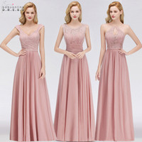 100% Real Photos Cheap Bridesmaids Dresses For Summer Boho B...