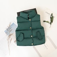 2019 New Winter Fashion Boys Girls Outerwear Thick Warm Vest...