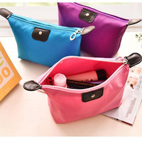 Cosmetic Bags For Women MakeUp Pouch Solid Make Up Bag Clutc...