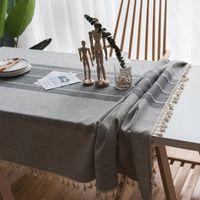 Masa Örtüsü Obrus Tafelkleed Mantel Mesa Napı Ana Tablo Dekorasyon Yemek Masa Örtüsü Keten Dantel Masa Örtüsü Dikdörtgen Masa Örtüsü