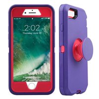 NIZZA difensore Caso Phone Holder Costruito Nel Kickstand 3 in 1 bello antiurto Protector per iPhone X Xs XR XS Max DHL