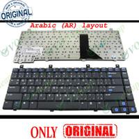 HP 파빌리온 ZV5000의 DV5000 프리자리오 M2000 R4000 V2000 V5000 C300 C500 블랙 아랍어 AR 버전의 새로운 노트북 노트북 키보드 - K031802E4AR