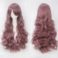 80cm Wigs Cosplay Wig 20 Colors Anime Long Loose Curly Cos P...