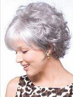 Parrucca del partito delle donne parrucche senza cappuccio sintetiche