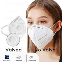 Valved Reusable Mask With Breathing Valve Air Filter Respira...