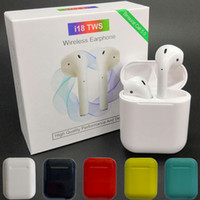 New i18 TWS Mini Bluetooth Earphones Air Ear Touch Control W...