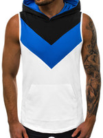Mens Sports Vest Quick Drying Breathable Striped Tank Tops S...