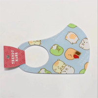 Protective Mouth Mask Cute Animal Printting Dust Proof Face ...