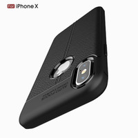Lichee Texture Funda de TPU para iPhone XS 8 7 6S 6 5S 5 Se Plus Funda para Apple iPhone 10 8 7 6S 6 X Xr Xs Máx. 6.5