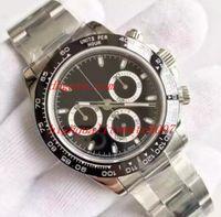 2019 Высочайшее качество BP Factory Cal.750 Движение 40 мм 116520 116500LN 116506 116503 Сапфировый стеклянный хронограф Автоматические мужские часы