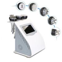 Бесплатная доставка Эффективное Strong 5в1 40K Ультразвуковая кавитация машина многополярного РФ кожи Фирма Body Lift липосакция Вакуумная машина для похудения