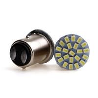 1157 22 SMD 1206 LED 자동차 주차 램프 자동 꼬리 전구 12V