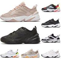 NEW 군주 신발에게 남자 금 실행하기 M2K하기 Tekno 남성은 디자이너 퍼플 그레이 오렌지 여행 레저 스포츠 아빠 운동화 크기 36-45를 여자