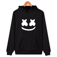 New Fashion Marshmello Hoodie Pullover Long Sleeve Autumn Wi...