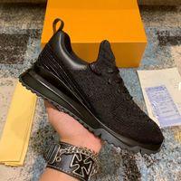 2021 العدائين أحذية رجالي مصمم v.n.r حذاء رياضة أسود عارضة الجلود الرياضية الفاخرة الرجال النساء تنفس المدربين تنس مع صندوق