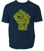 Hand of Revolution T Shirt S- 3XL Top Revolt Peace Anti War G...