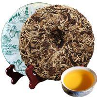 Предпочтительный 357 г Юньнань Лунный свет красоты Пуэр чай торт сырой Пуэр чай органический натуральный Пуэр чай старое дерево зеленый пуэр торт завод прямых продаж