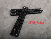 BENCHMADE - C62 Stripe Butterfly Knife 3Cr13Mov Blade Steel ...