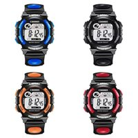 Men Digital Watch Studets Sport Watches Multifunction LED Di...