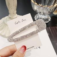 Garras de cabelo de cristal de luxo com pérolas de cristal completo grampo de cabelo garra por atacado em vários modelos de Fábrica de Yiwu atacado
