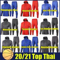 2020 نوادي كرة السلة هوديس البلوز ملابس كرة السلة جمعية الرجال الرياضية رياضية الجري هوديي دعوى الأزياء الرياضية البدلة