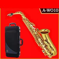 ياناجيساوا ألتو ساكسفون إب شقة العتيقة النحاس A-W01 جيد النوعية الصين آلات الموسيقى ساكس