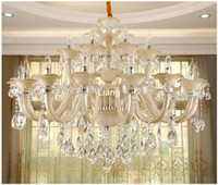 Free Shipping Modern Crystal Chandelier European White Cryst...