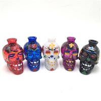 Hot Sale Multi Colors Vampire Skull Shape Colorful Painting ...