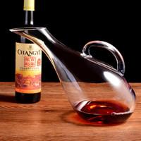 홈 개인 와인 디켄터 성격 와인 병 프리미엄 유리 와인 공급 유리 병 여러 음료 주스 항아리 2100ml 700ml