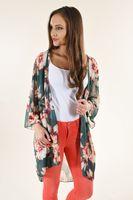 Femmes Designer Summer Beach Floar Imprimé crème solaire à manches longues Cap Femmes Mode en vrac Manteau Vêtements Empêchez