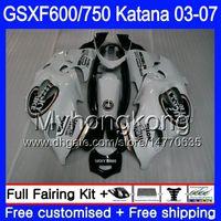 GSXF-600 SUZUKI KATANA GSXF 750 600 GSXF600 03 04 05 06 07 293HM.AA GSX 750F Şanslı Siyah Stok GSXF750 2003 2004 2005 2006 2007 Perşembe