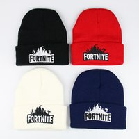 Fortnite Hat Battle Fort Fight Knitted Hat Hip Hop Kidney Be...