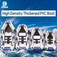 Schlauchboot 0.9mm PVC-Fischerboot 3 Schicht auflaminiert verschleißfeste Gummi Air kayak Ruder für Outdoor Angeln Sport
