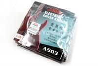 10 حزمة أليس A503-L / 046 سلاسل الغيتار الكهربائي E-6TH واحدة سبائك النيكل الجرح سلسلة شحن مجاني