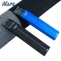 VXV RB Kit Kit 380 мАч с 2 мл картриджем с двумя батареями и блоком зарядного устройства Компактный портативный комплект Vape Pen 100% оригинал