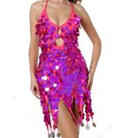 Bühnenbekleidung 2021 europäisch amerikanische asiatische frauen mädchen salsa samba rumba tango lateinisch tanz kleid moderne quaste pailletten tanzen kleidung kostüm