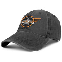 Harley Davidson Motorcycle logo black Mens and women Denim C...
