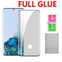 5D Полный клей Закаленное стекло экрана телефона протектор для Samsung Galaxy S20 Plus Ultra S10 Note10 S9 S8 Plus note9 Note8 Huawei P40 PRO P30