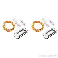 Telecomando USB Filo di Rame Stringa di luce a LED A Bassa Tensione A Prova di acqua Decorazione di Natale Stringa Della Lampada Multi Color IP65 CRESTECH
