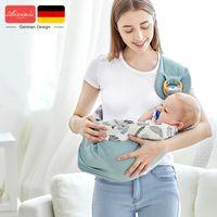 طفل يحمل القطن التفاف الرافعة الناقل الوليد السلامة حلقة المنديل حاملة الطفل الرضيع مريح الكنغر حقيبة
