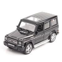 1/32 Diecasts Spielzeugfahrzeuge Mercedes G65 AMG-Automodell mit Soundlight-Sammlung Auto Spielzeug für Junge Kinder Geschenk Brinquedos y200109