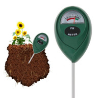Bitkiler için toprak PH Metre Toprak Nem Ölçer PH Tester Enstrüman SN1068 Ölçme Çiçekler Sebze Katı Kalitesini Bitkileri