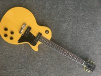 China Guitar 1959 yellow color Electric Guitar with two p90 ...