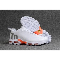 Orange Black Mens Mercurial TN Running Shoes Chaussures TN M...