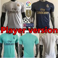19 20 Player Version real Madrid soccer jerseys men home awa...