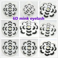 6D Mink Eyelashes Natural False Eyelashes Long Eyelash Exten...