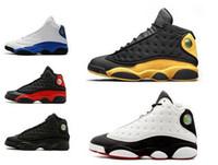 add2d8ec203 13 13s mens basketball shoes Phantom Hyper Royal He Got Game Flints Chicago  Bred DMP Wheat Ivory Black Cat Men sports sneakers shoes