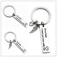 lovers' Custom Fashion Keyring Gifts Engraved Drive Saf...