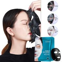 Immagini Marca Cura della pelle di umidità viso Bubble Maschera Maschera per il viso Amino Acid profonda purificante carbone di bambù Cura Viso nero