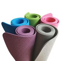 Quality TPE Environmentally Non- Toxic Yoga Mat Thick 6MM Lon...